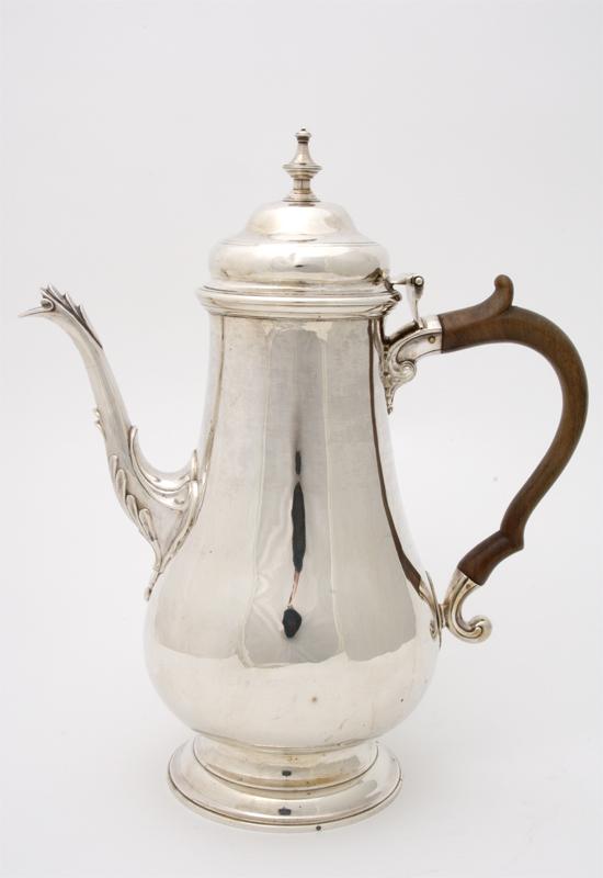 An Antique Coffee Pot